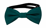 SOLID Dark pine baby bow tie