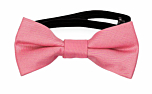 SOLID Dark pink baby bow tie