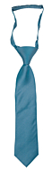 SOLID Dark turquoise boys tie small pre-tied