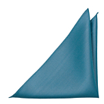 SOLID Dark turquoise pocket square