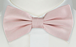 SOLID Dusty pink pre-tied bow tie