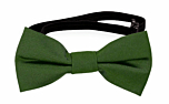SOLID Green baby bow tie