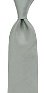 SOLID Grey classic tie