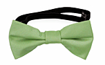 SOLID Light green baby bow tie