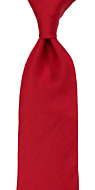 SOLID Light red classic tie