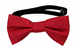SOLID Light red baby bow tie