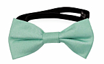 SOLID Light turquoise baby bow tie