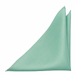 SOLID Light turquoise pocket square