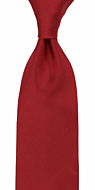 SOLID Red classic tie