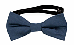 SOLID Steel blue baby bow tie