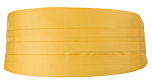 SOLID Yellow cummerbund