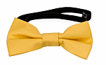 SOLID Yellow baby bow tie