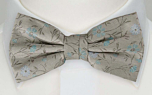 SOTNOS Turquoise pre-tied bow tie