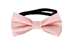 JAGGED Blush pink baby bow tie
