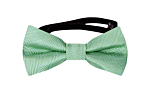 JAGGED Seafoam turquoise baby bow tie