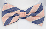JOLLITY Pink pre-tied bow tie