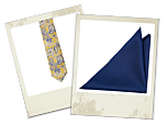 Heimdal tie and Njord pocket square gift combo