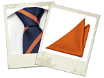 Tintin tie and Daudi pocket square gift combo