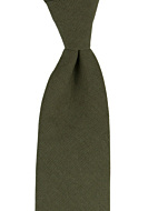 MOREAMORE Seaweed green classic tie