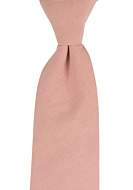 MOREAMORE Vintage pink classic tie