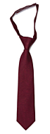 ORNATE Dark red boy's tie small pre-tied