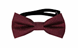 ORNATE Dark red baby bow tie