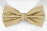 ORNATE Gold boy's bow tie