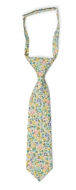 ROSERIDDLER Turquoise boy's tie small pre-tied