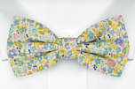 ROSERIDDLER Turquoise boy's bow tie