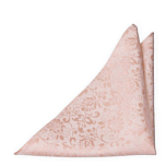 SAVETHEDATE Blush pink pocket square
