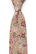 SENTIMENTAL Old pink classic tie