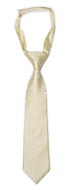 SNAZZY Champagne boy's tie small pre-tied