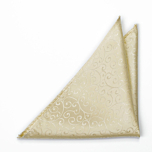 SNAZZY Champagne pocket square