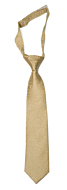 SNAZZY Gold boy's tie small pre-tied