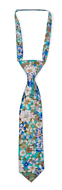 SPIFFYTOP Turquoise boy's tie small pre-tied