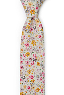 SUNLIT Pink boy's tie medium