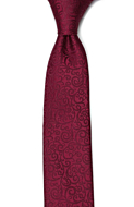 SWANKY Dark red boy's tie medium