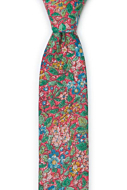 SYLVANITY Salmon pink boy's tie medium