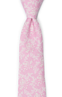 THUMBELINA Pink classic tie