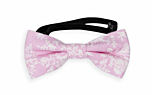 THUMBELINA Pink baby bow tie