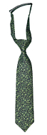 TUSSIEMUSSIE Green boy's tie small pre-tied