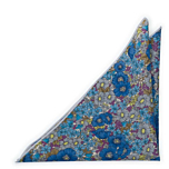 VIOLICIOUS Blue pocket square