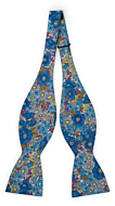 VIOLICIOUS Blue self-tie bow tie
