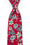 YULEPHORIA Red classic tie