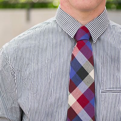 15 neckties and bow ties in cotton