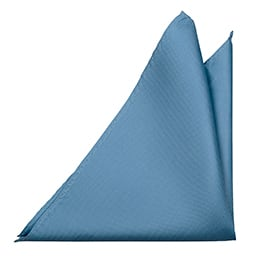 Notch Brollop Blue pocket square